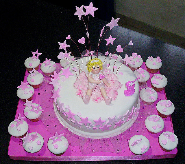 9 Fairy Little Birthday Cakes Photo