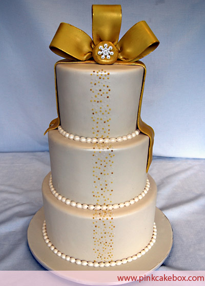 12 Photos of Pink And Gold 50th Wedding Anniversary Cakes