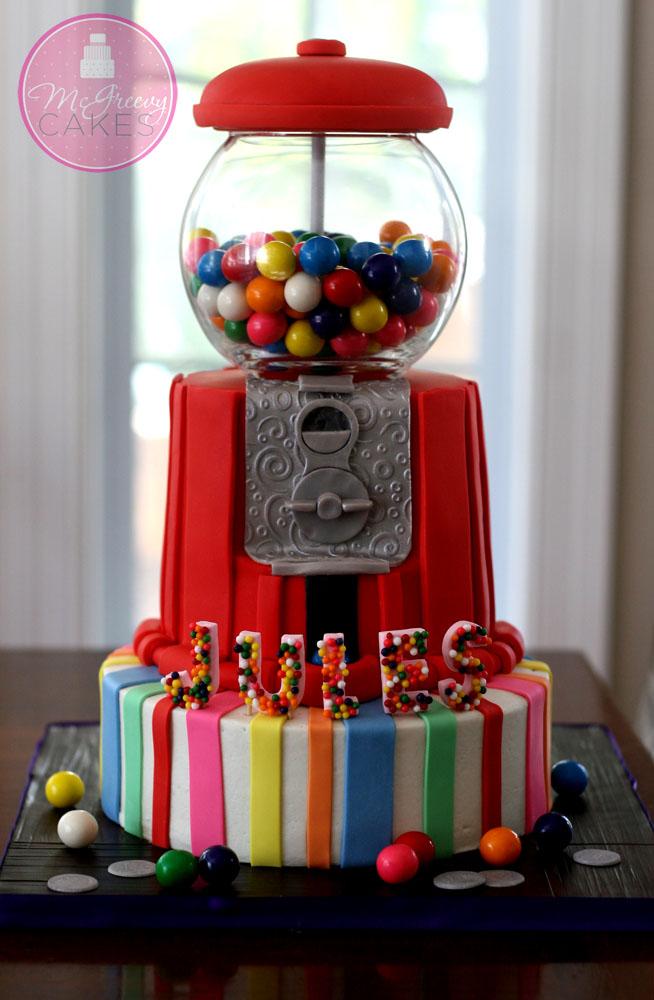 Gumball Machine Cake Pops