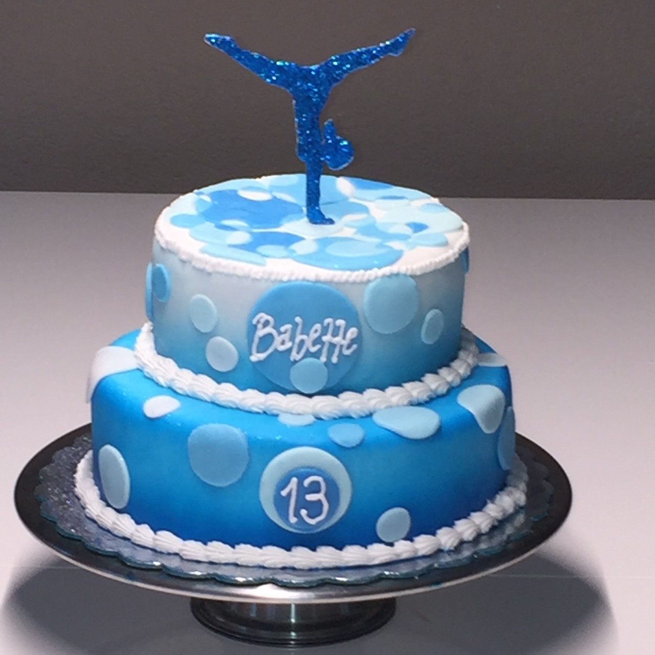 11 Gymnastic Cakes For Girls Diy Photo Gymnastics Cake Gymnastics