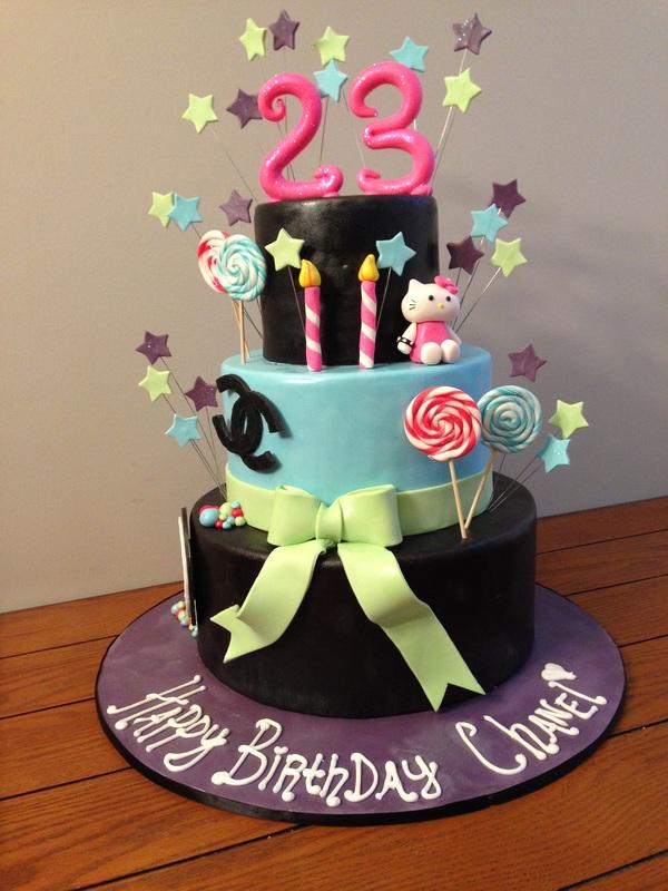 8 23rd birthday cakes for women photo 23rd birthday cake mac happy 23 birthday cake ideas thecheapjerseys Gallery