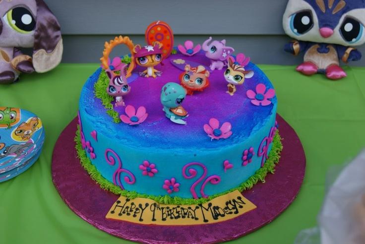 Awe Inspiring 11 Littlest Pet Shop Birthday Cakes Photo Littlest Pet Shop Funny Birthday Cards Online Alyptdamsfinfo