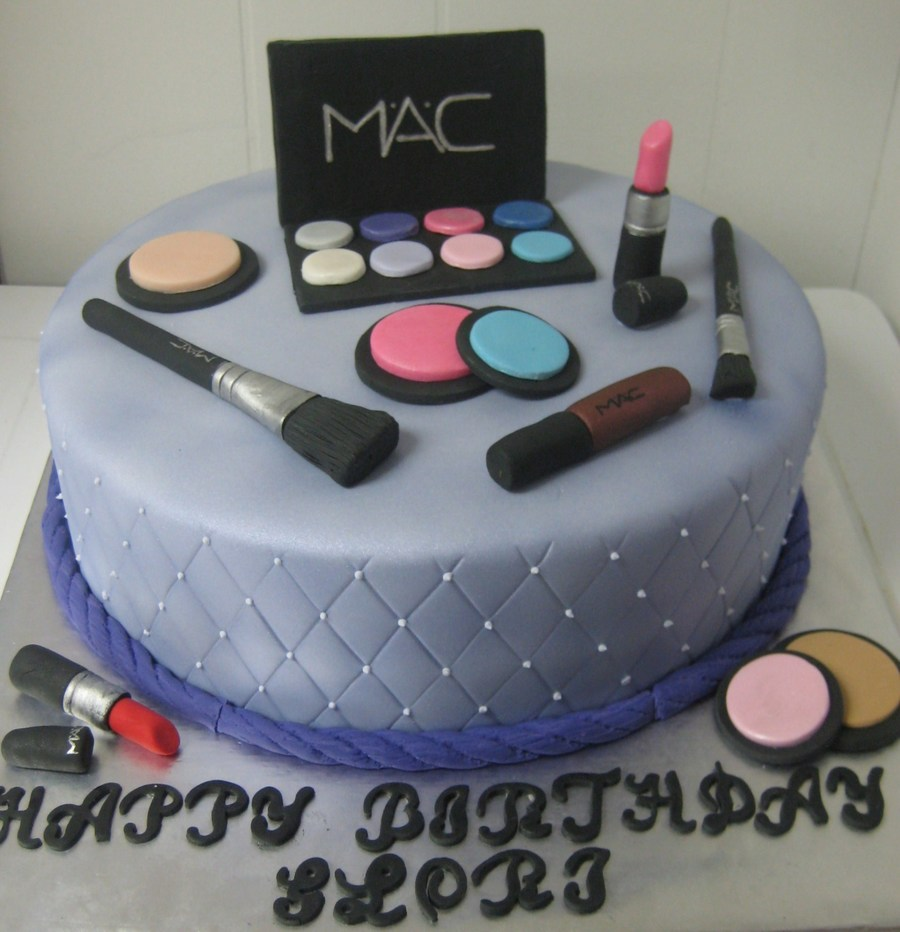Happy Birthday Cake For Makeup Artist Hitman Game