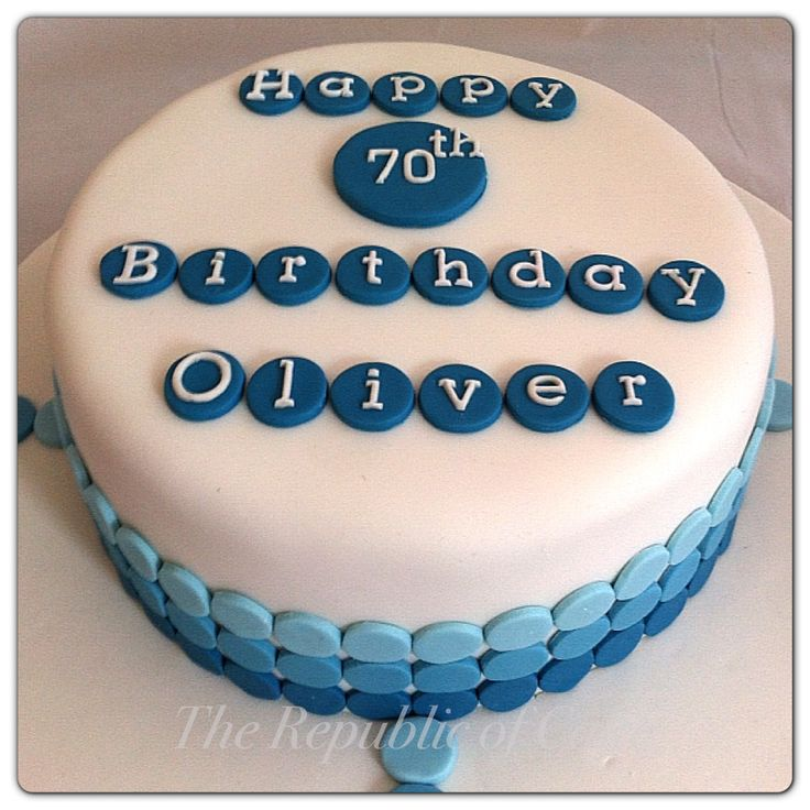 13 Simple Cakes For Men Photo Boys Birthday Cupcake Cake Male