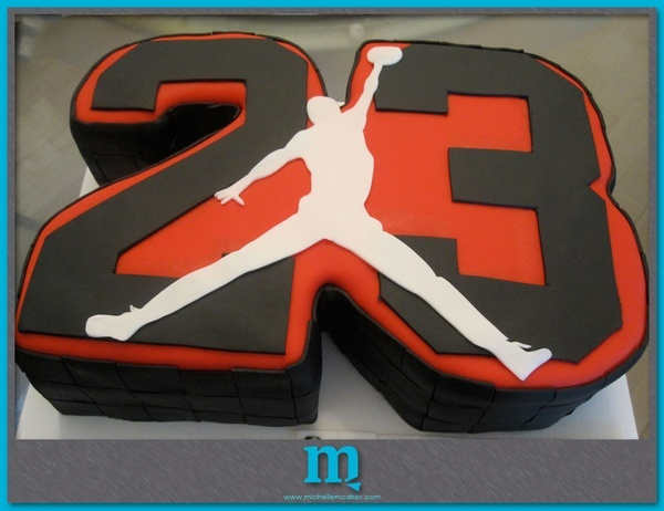 12 Michael Jordan Basketball Birthday Cakes Photo Jordan Birthday