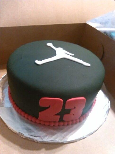 12 Michael Jordan Basketball Birthday Cakes Photo Jordan Birthday