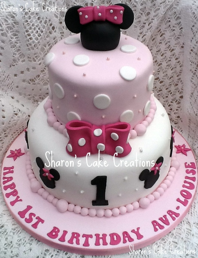 Minnie Mouse Birthday Cakes Walmart