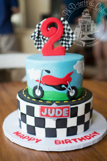 12 Motorcycle Cakes For Boys Photo Motorcycle Themed Birthday