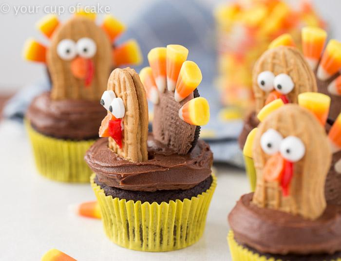 8 Photos of Thanksgiving Cupcakes W Oreo