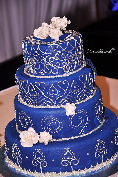 baby blue and silver wedding cakes 7 royal blue and purple wedding cakes ideas photo blue 10993