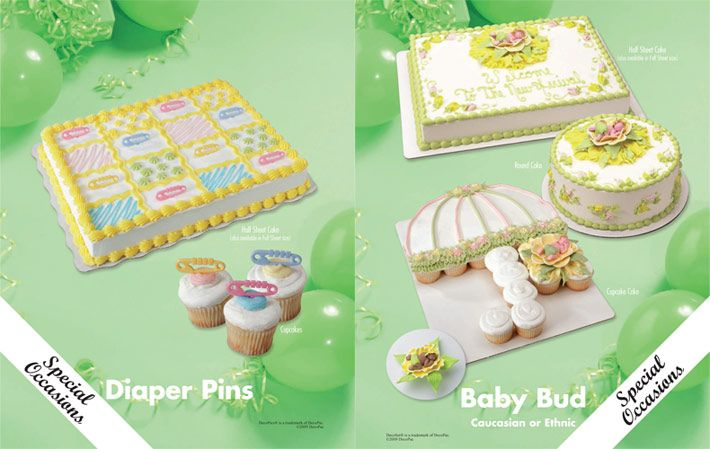 7 Easy Baby Shower Cakes Sam Club Photo Sams Club Baby Shower