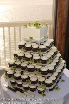 cupcakes instead of wedding cake 5000 Simple Wedding Cakes