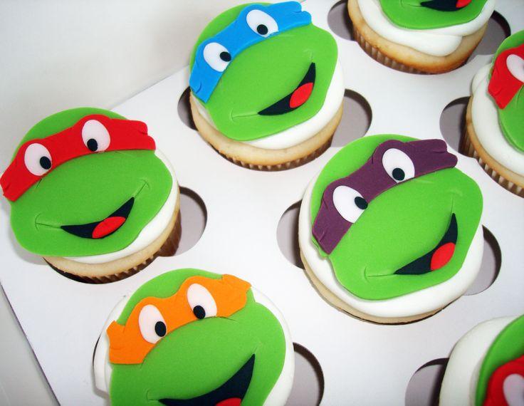 Teenage Mutant Ninja Turtle Cupcake Idea