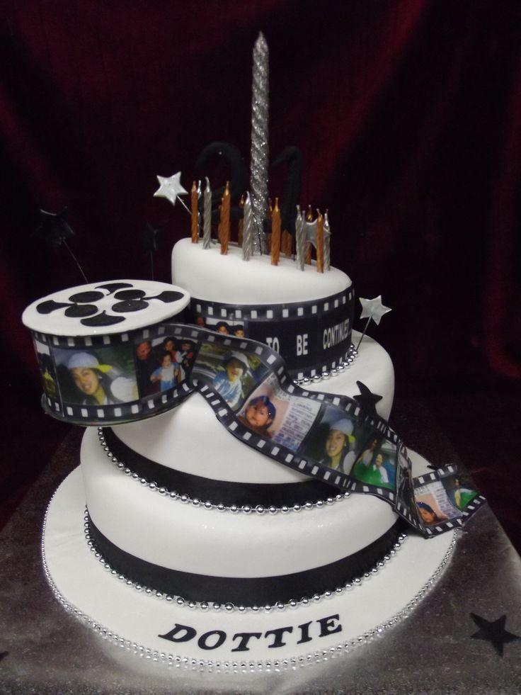 Timeline Birthday Cake