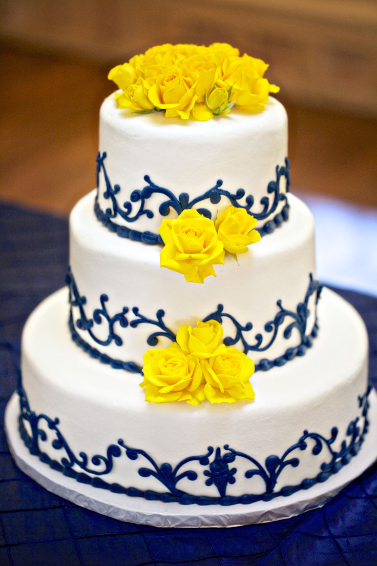 Stunning Yellow And Grey Wedding Cakes Contemporary Styles - Shilla Bakery Wedding Cake