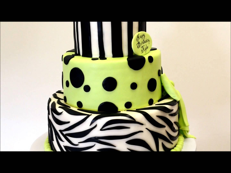 11 Zebra Themed Birthday Cakes Photo Pink Zebra Birthday Cake