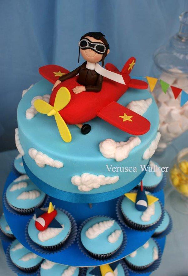 12 Airplane Cakes Bakery Photo Airplane Cupcakes Jet Airplane