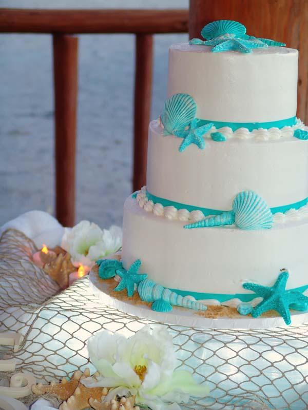 13 Cakes Blue Beach Photo Beach Theme Wedding Cakes Under The Sea