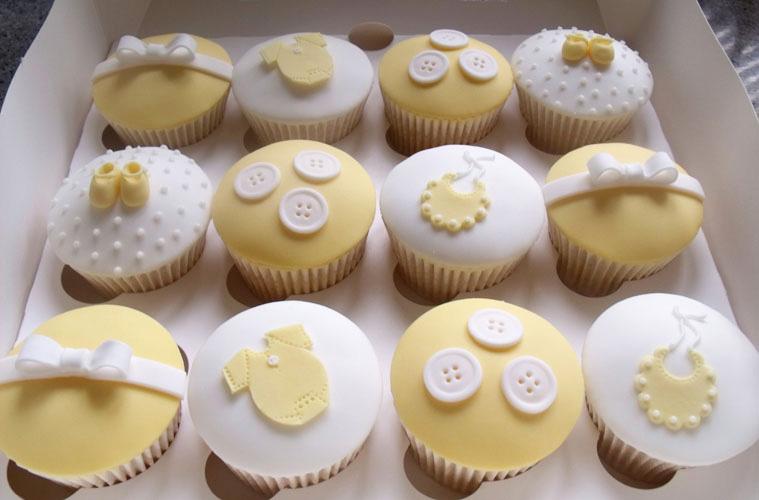 12 Fondant Cupcakes For Baby Designs Photo Fox Fondant Cupcake