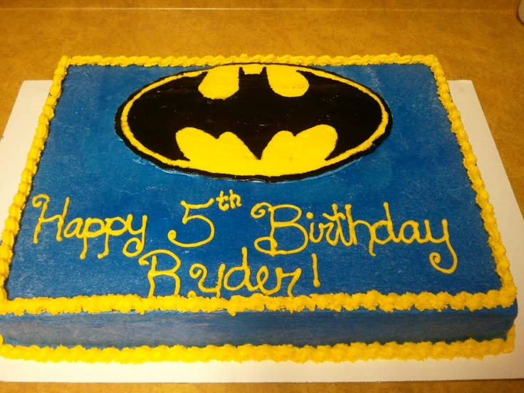 6 15 Year Birthday Cakes Batman Cake Photo Batman Birthday Cake
