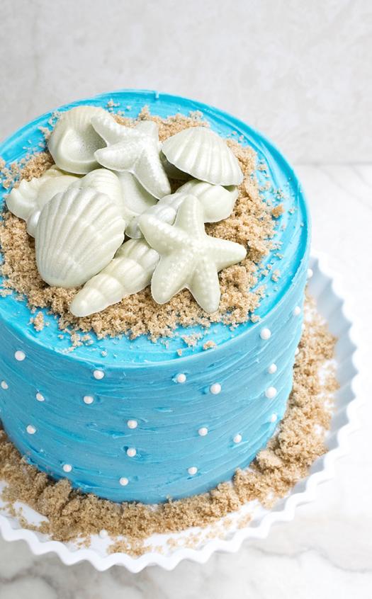 11 HEB Cakes Beach Themed Photo Beach Themed Cake Beach Themed