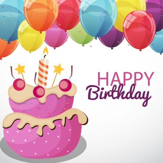 Fine 11 Cartoon Balloons Cute Birthday Cakes Photo Cartoon Birthday Personalised Birthday Cards Veneteletsinfo
