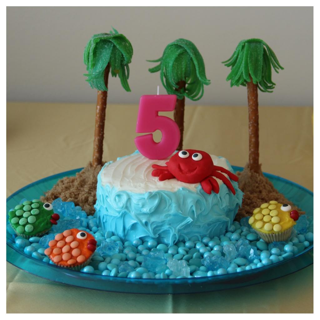 9 Theme With Crab Cakes Photo Crab Themed Birthday Cake Beach