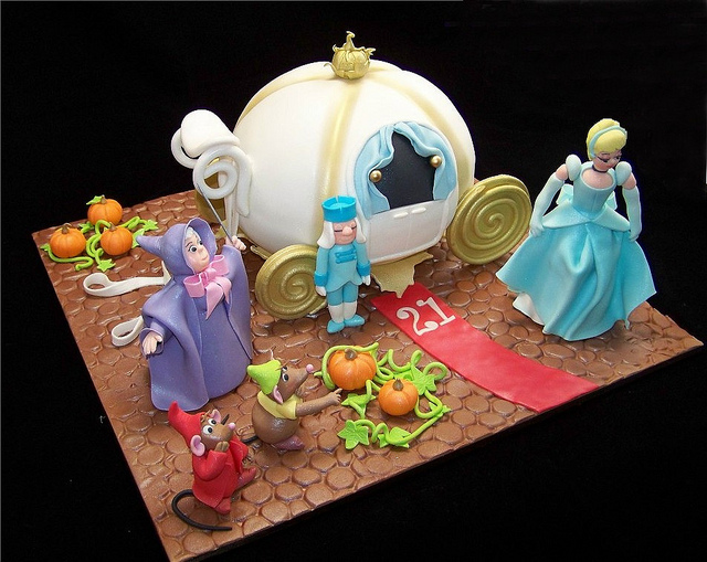 13 Cinderella Carriage Birthday Cakes Ideas Photo Cinderella