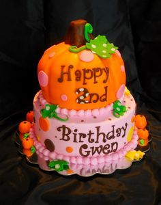 12 Fall Leaf Pumpkin Shaped Cakes Photo Halloween Pumpkin Cake