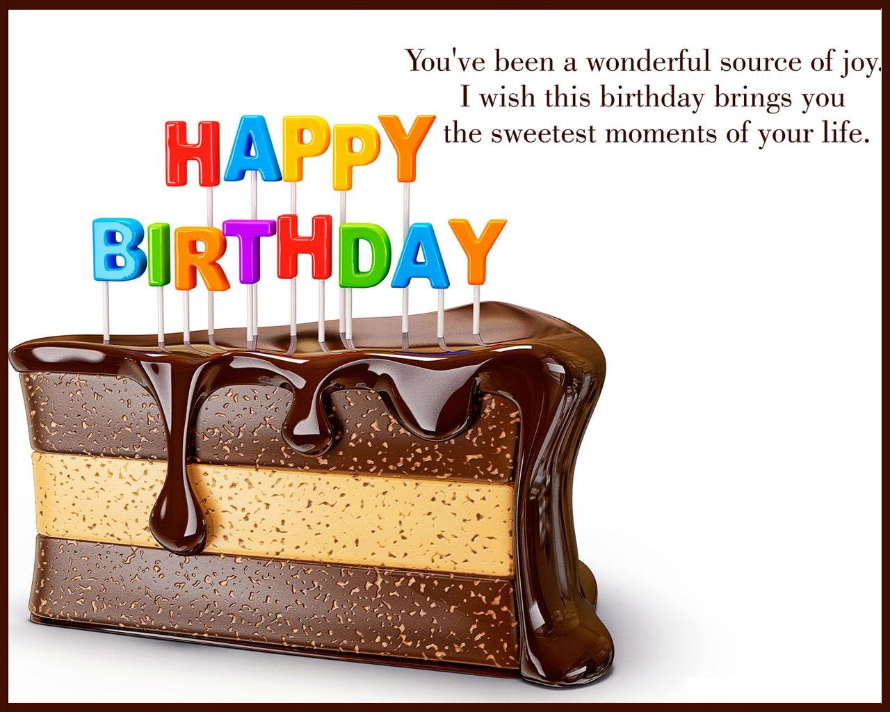 Funny Happy Birthday Chocolate