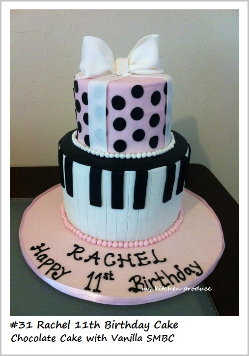 6 Girls 11th Bday Cakes Photo Girls 11th Birthday Cake Ideas