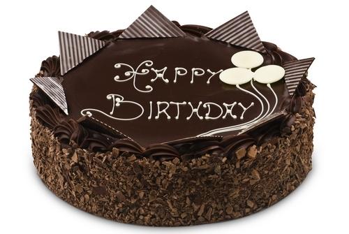 10 Funny Happy Birthday Chocolate Cakes Photo Happy Birthday