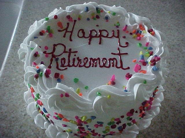 5 Photos of Happy Retirement Cupcakes