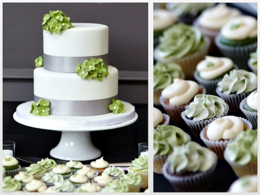 12 Grey And Green Cakes Photo - Green and Grey Wedding Cake, Navy ...