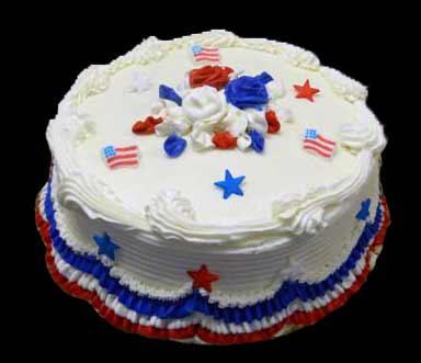 Memorial Day Cupcake Cake
