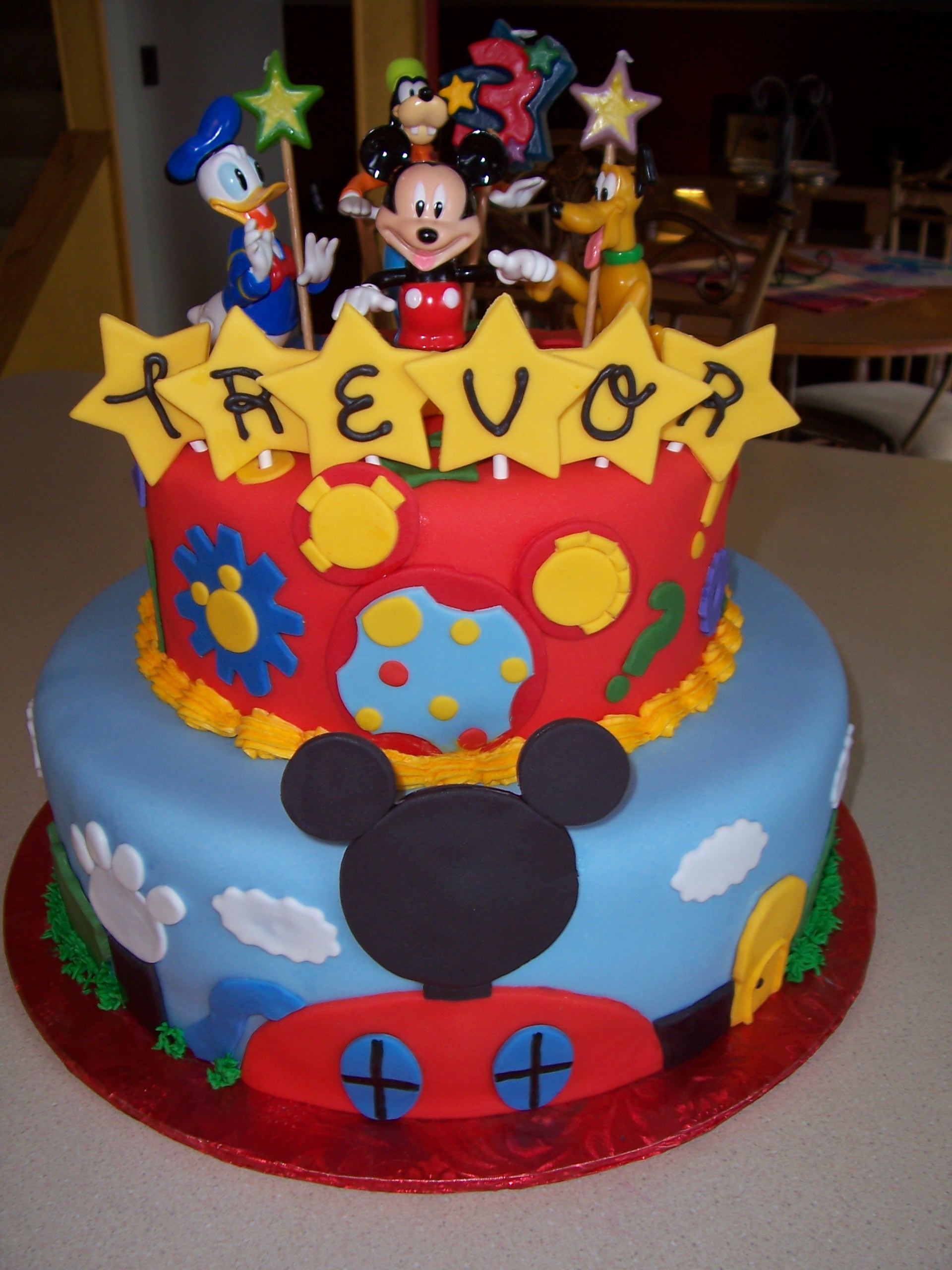11 Mickey Mouse Birthday Cakes For Boys Photo Mickey Mouse