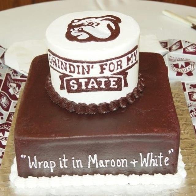 10 Msu Bulldog Birthday Cakes Photo Mississippi State Bulldog