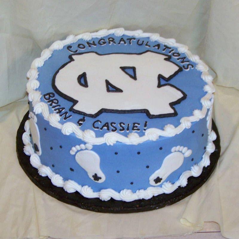 11 Tar Heel Cakes Photo North Carolina Tar Heels Birthday Cake