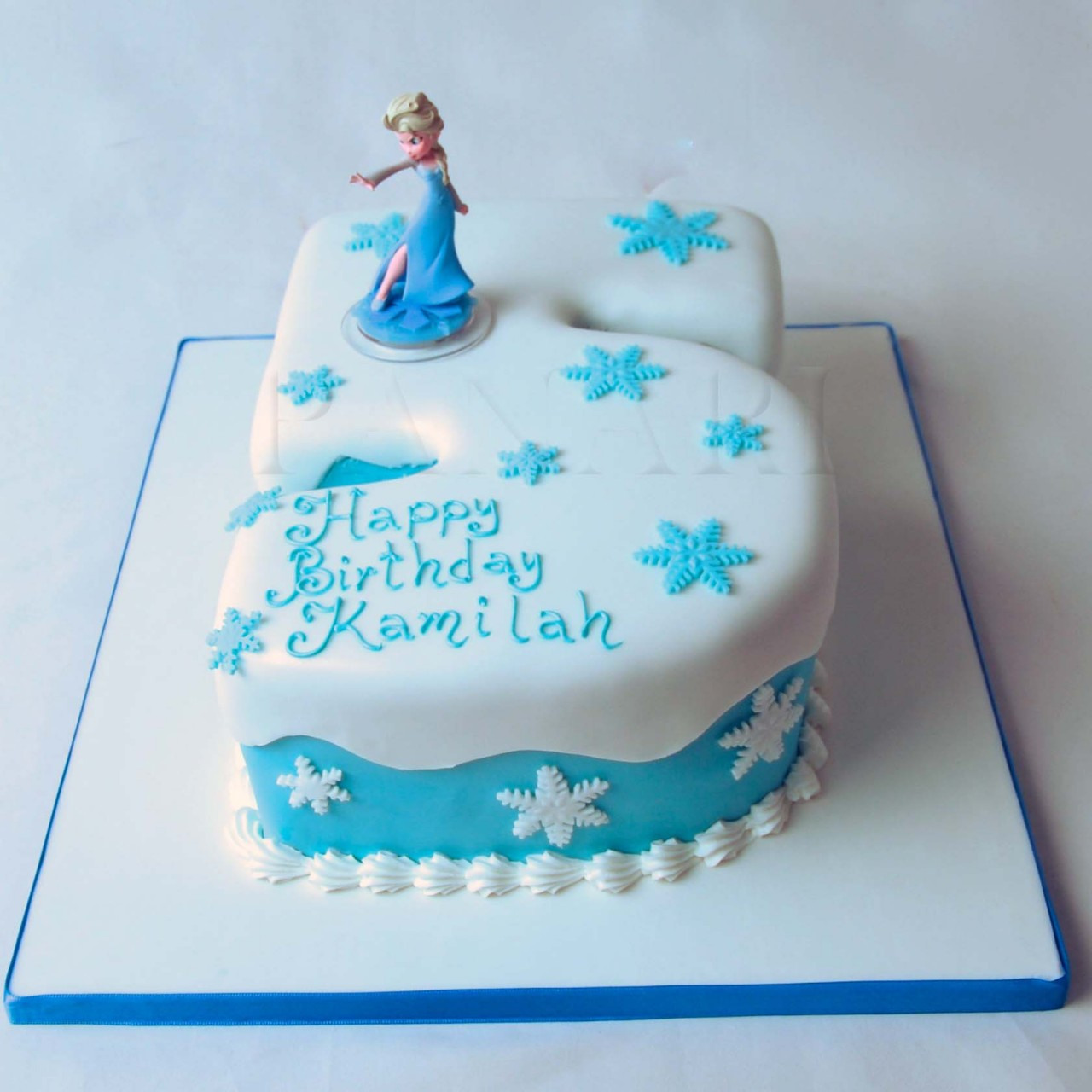 6 Photos of Frozen Number With Cakes