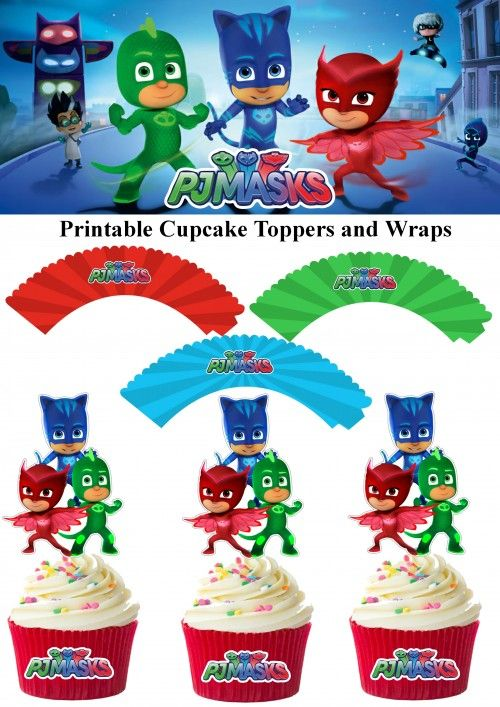 Pj Masks Ice Cream Cake