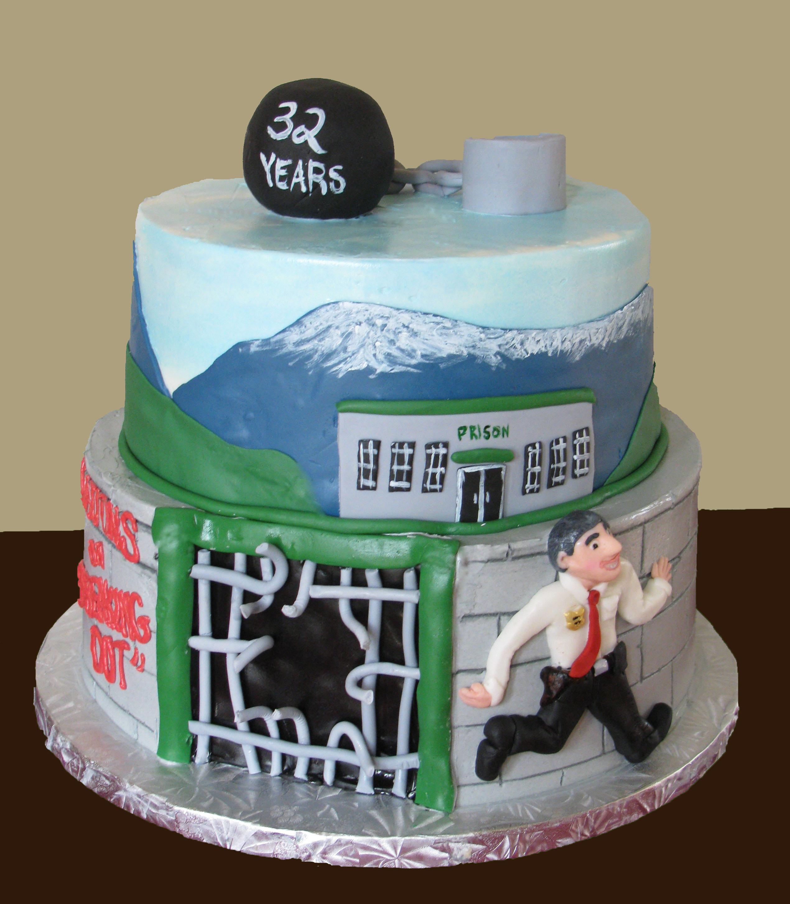 12 Photos of Law Enforcement Retirement Cakes