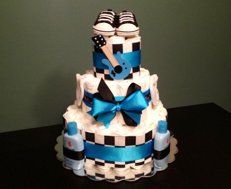 10 punk rock baby shower cakes photo punk rock baby shower cake rock and roll baby shower cakes freerunsca Images