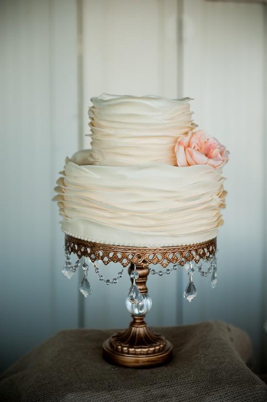 Small Simple Elegant Wedding Cakes