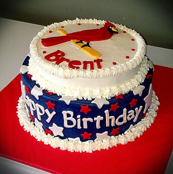 11 Cardinals Bday Cakes Photo Arizona Cardinals Birthday Cake St