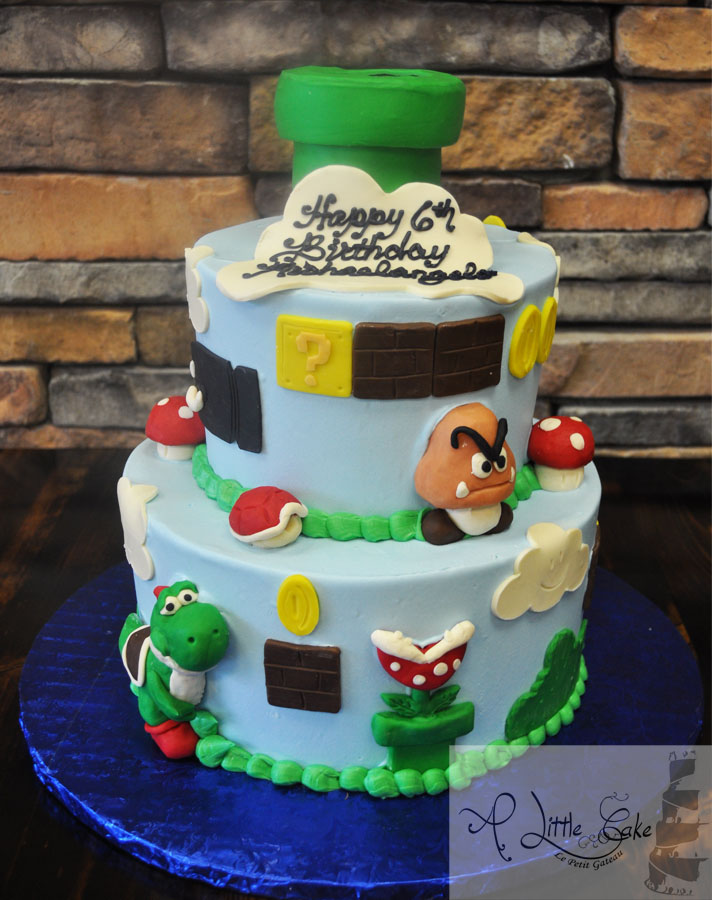 10 Cool Cakes For Brothers Photo Super Mario Brothers Birthday