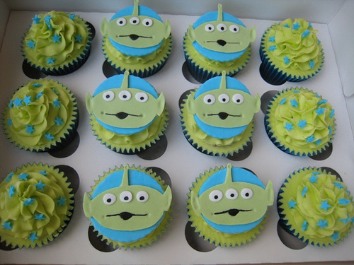 8 Photos of Disney Toy Story Cupcakes