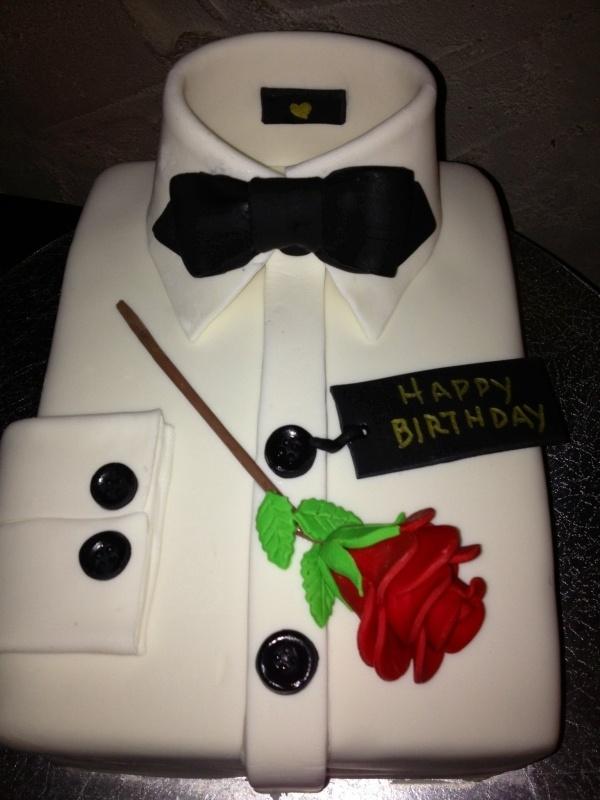 11 Cakes Birthday Shirt Photo Tuxedo Shirt Birthday Cake Men