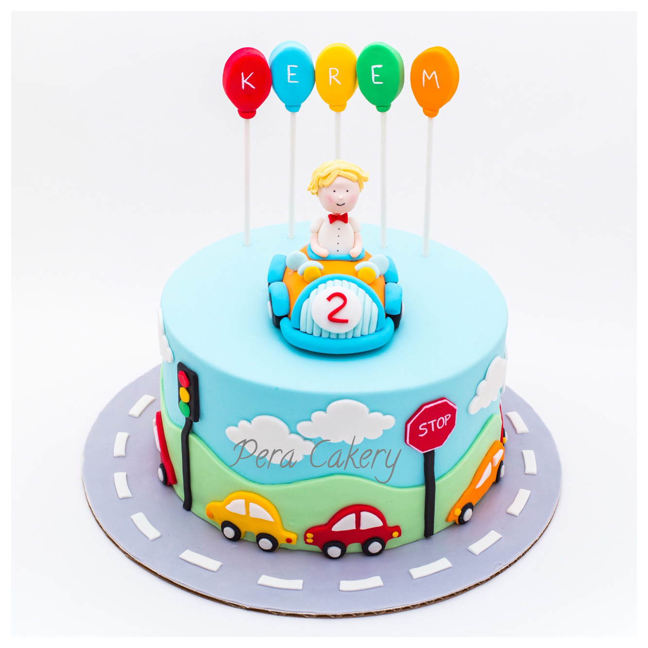 9 2 Year Old Boy Birthday Cakes Fondant Photo 2 Year Old Boy