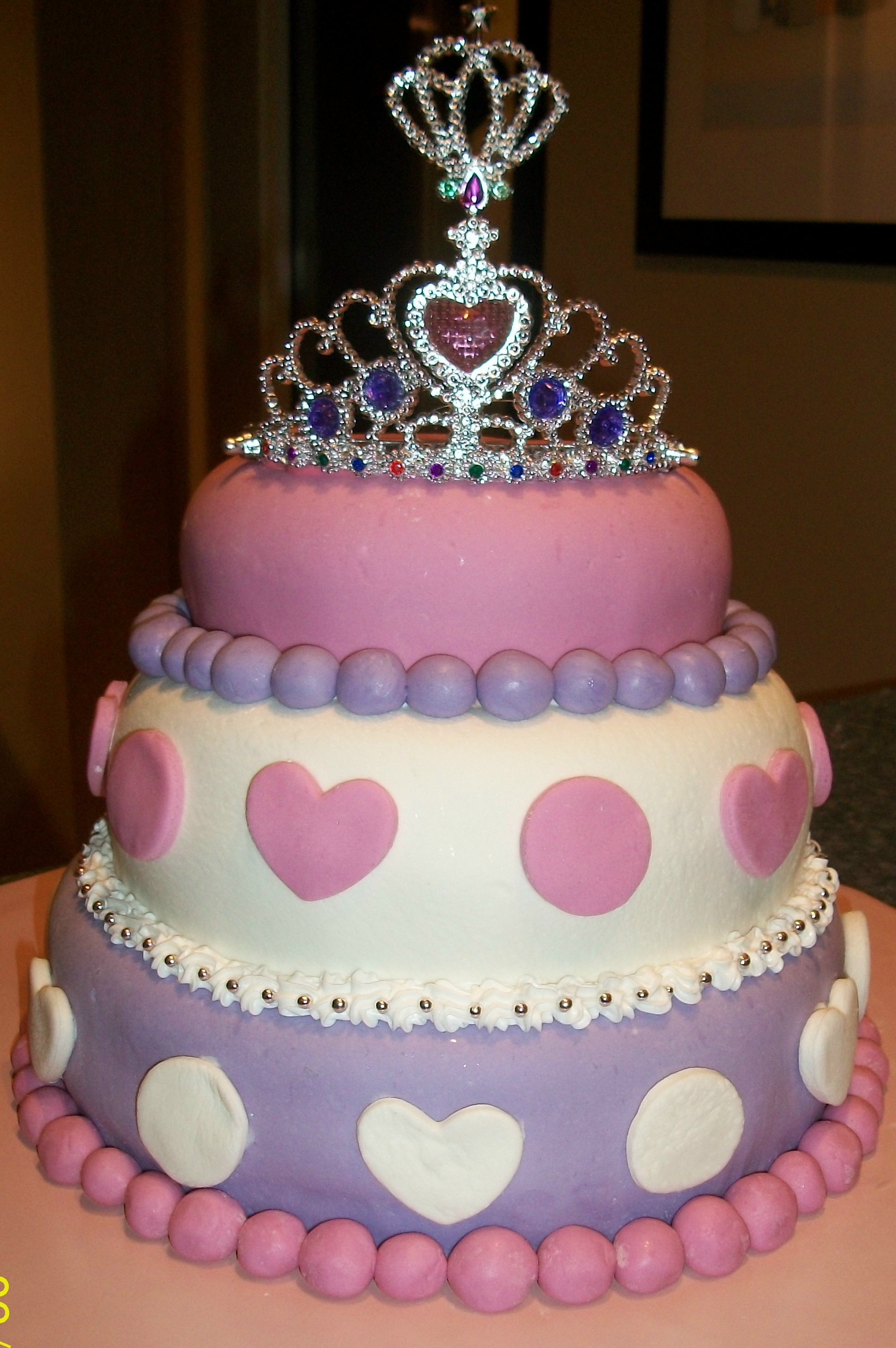 3 Year Old Girl Birthday Cake