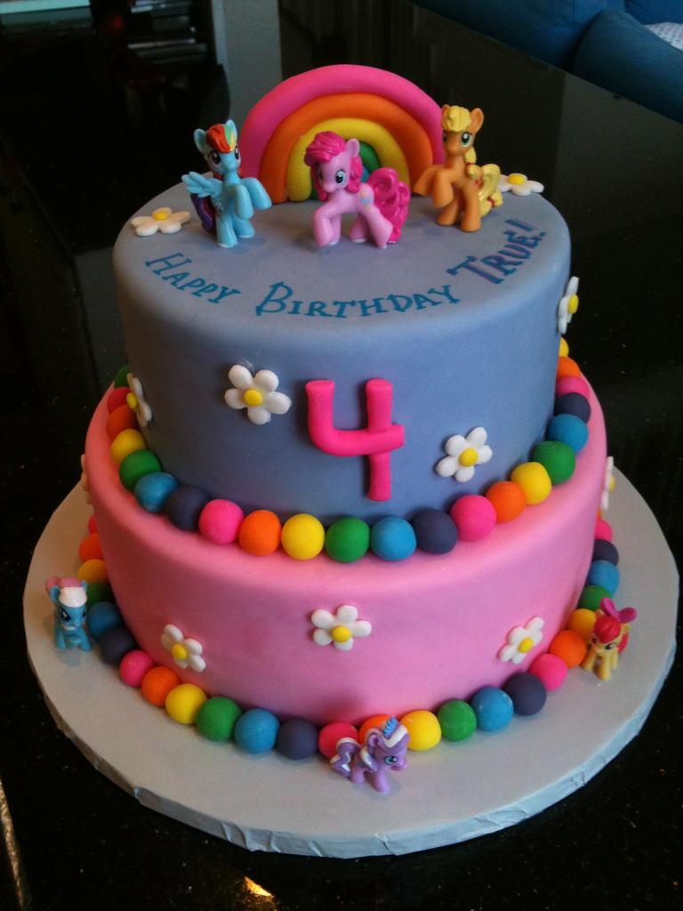 4 Year Old Birthday Cake Ideas